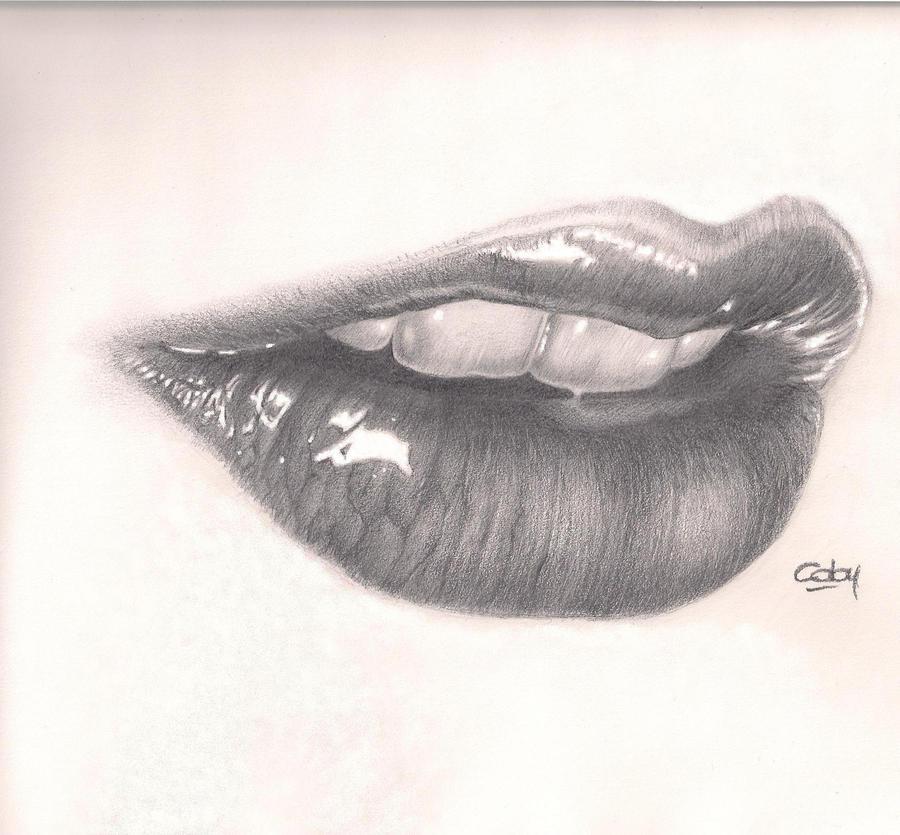 Pencil Sketches Of Lips | www.pixshark.com - Images ...