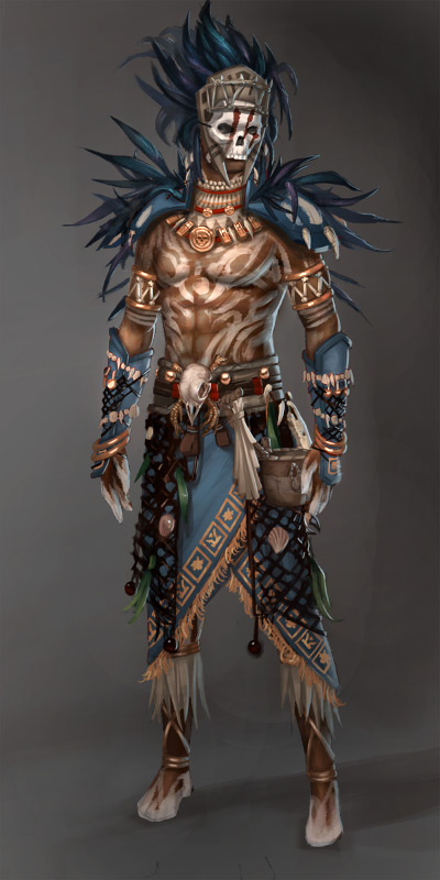 Guild Wars 2: Voodoo Male by YeeWu