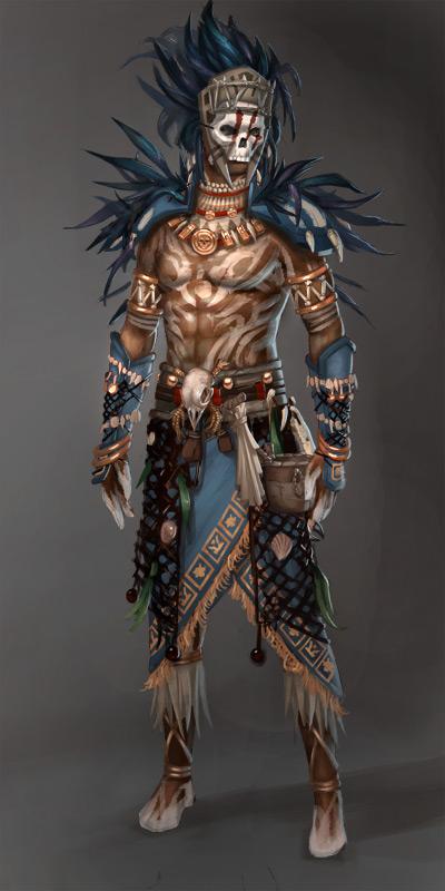 Guild Wars 2: Voodoo Male by YeeWu