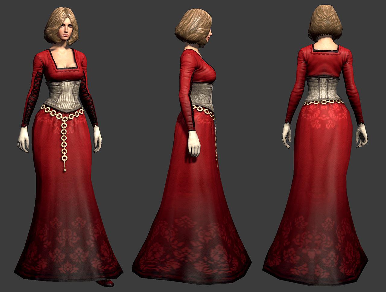 Guild Wars 2: Human Dress by YeeWu