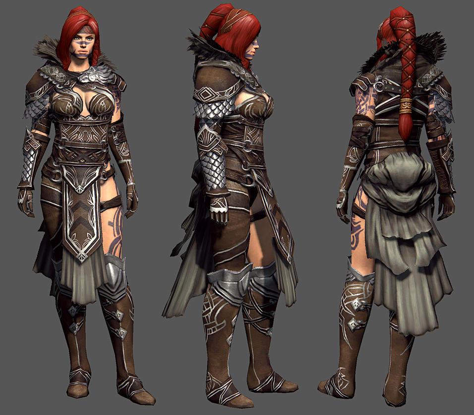 Guild Wars 2: Eir by YeeWu