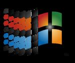 Classic Windows Logo in HD