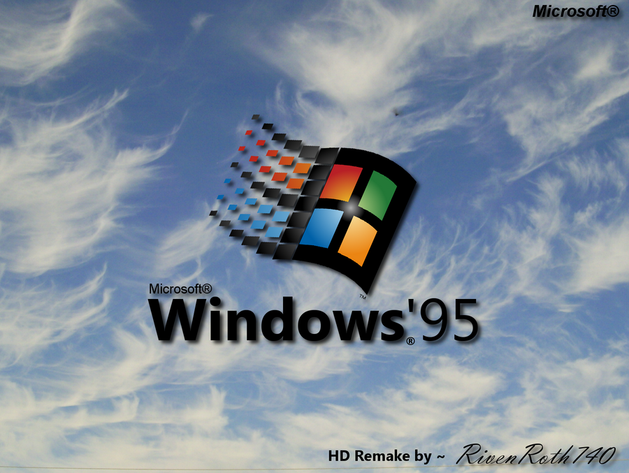 windows 95 bootscreen hd remake by rivenroth740 on deviantart