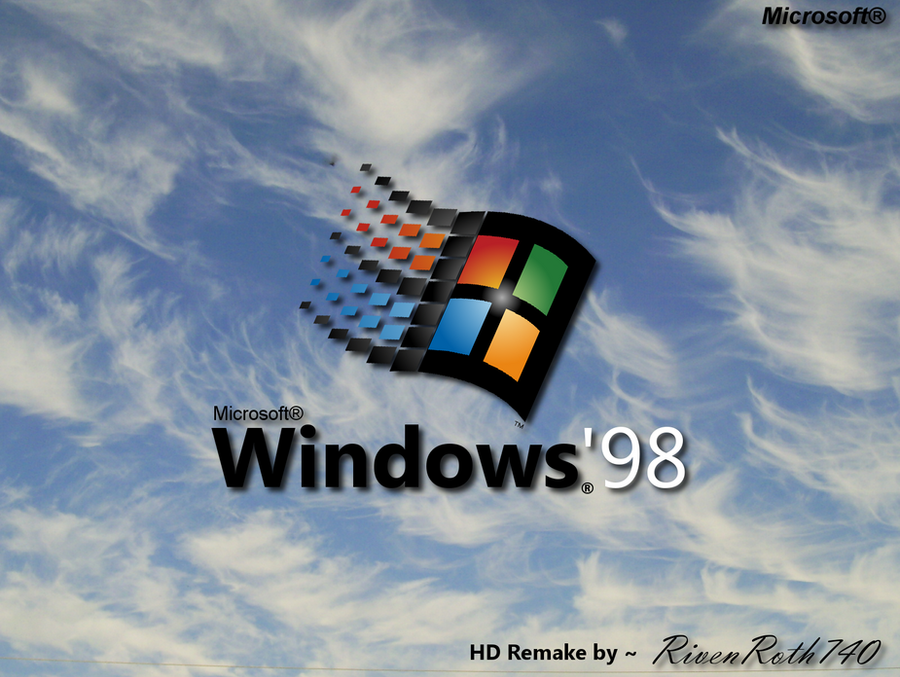 Windows 39 98 bootscreen hd remake by rivenroth740 on deviantart for Windows 95 startup sound