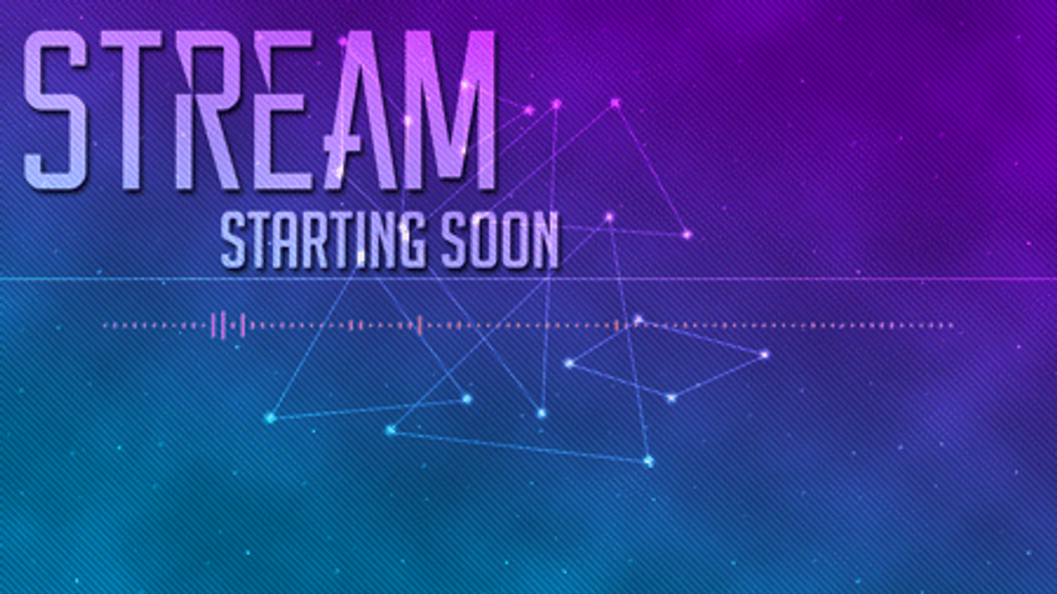 Stream Starting Soon Audio Visualizer Test By Barcodeqt On