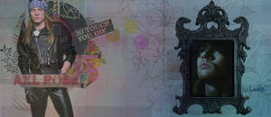 Axl Rose Sign. - 4 - by Calciu19