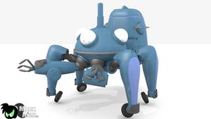 Tachikoma 3d model by MarKAnime