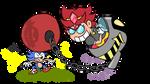 Eggette Vs Sonic