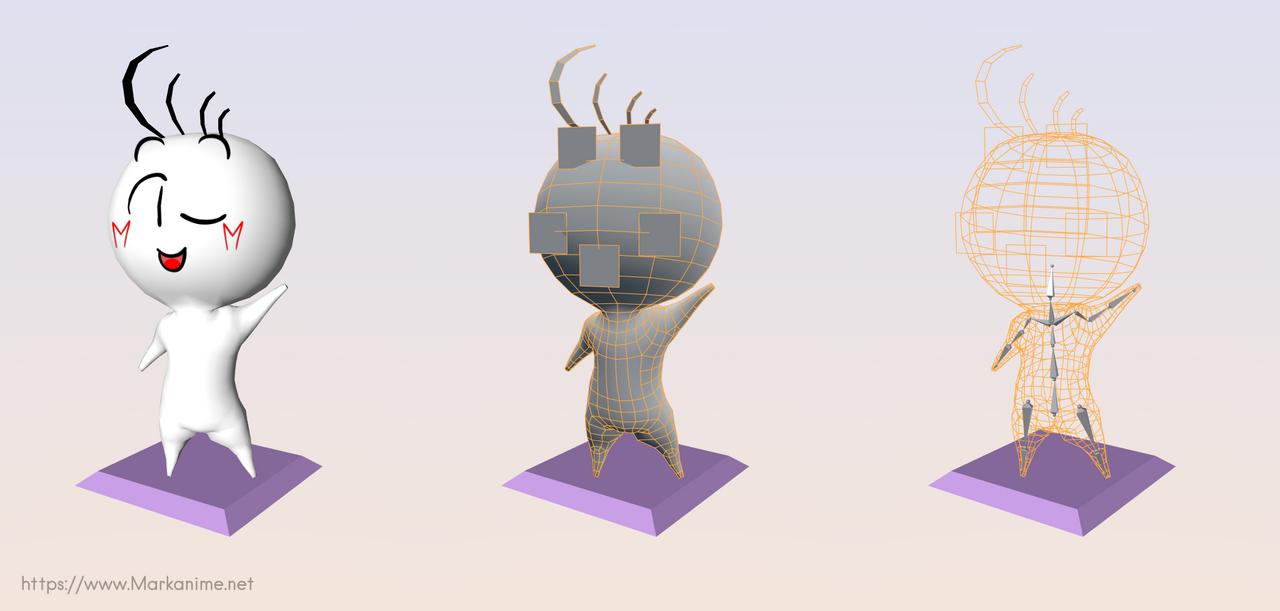 3D Mark for VR by MarKAnime