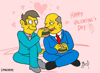 Steamed Hams Valentine by MarKAnime