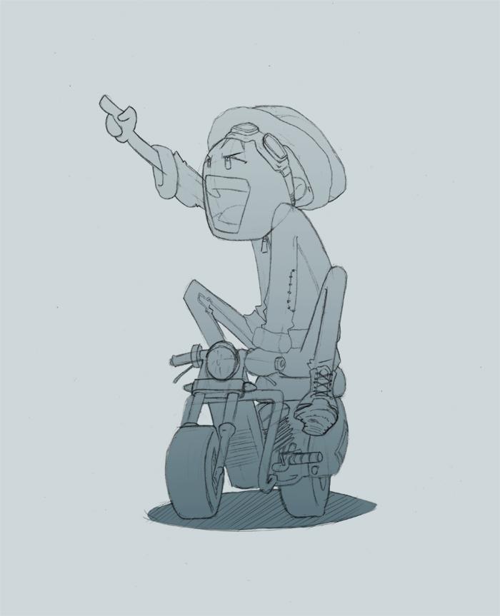 Daily Sketch 003 by SHINEstudio
