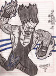 The Undertaker Cartoon No. 1