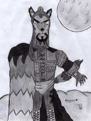 Dark Wolf Undertaker by HARDTAKER