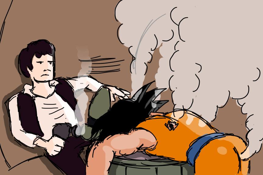 Han Shot Goku by TwinBirdsofPrey
