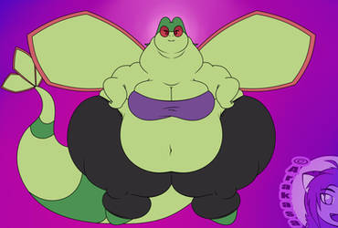 Tubby Flygon in a tube top by Arakasa
