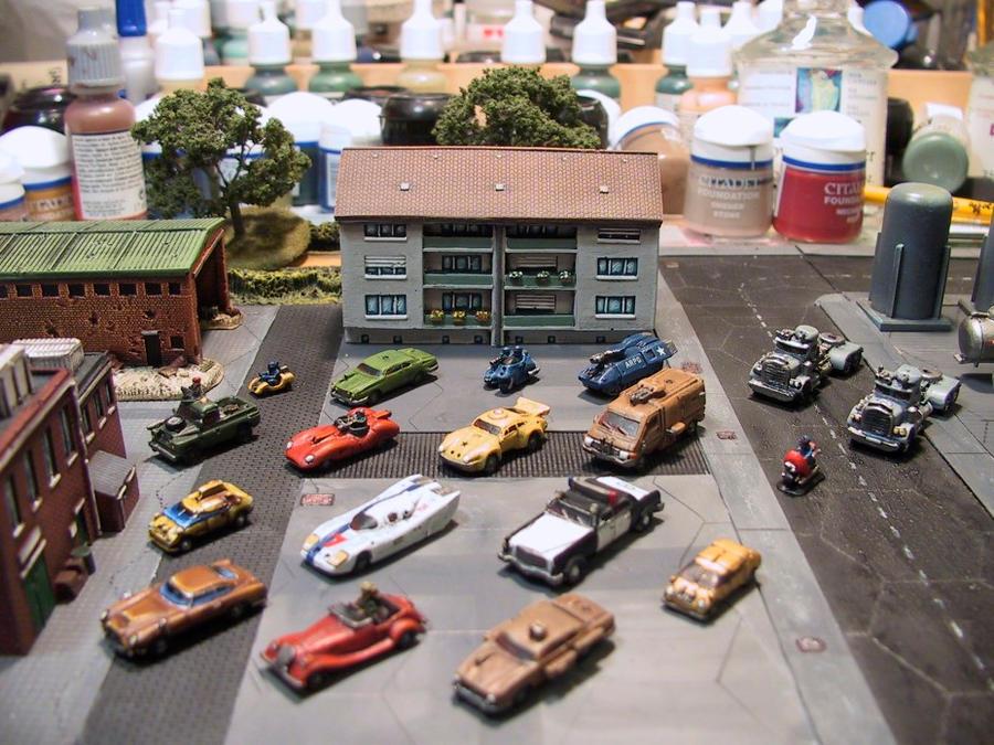 Car Wars: Games Workshop Battlecars By Inrepose On DeviantArt