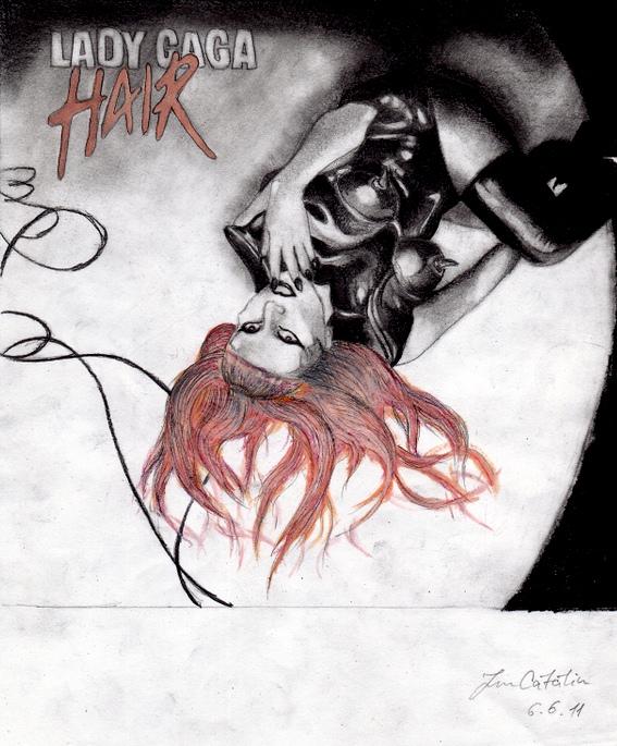 Lady Gaga Hair by LoveGagaRedAndBlue