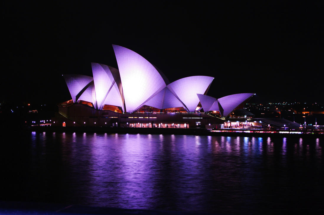 Lights on the Opera House by Andrezao