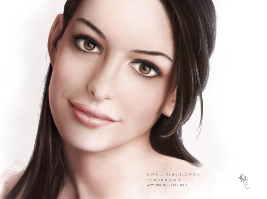Anne Hathaway by MCVisuals