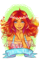 Flame princess by Matchaa