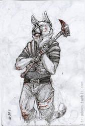 Skyrim Kitty [Misha] by Heyriel