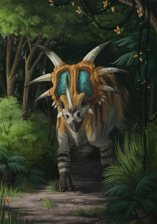 Styracosaurus by Heyriel