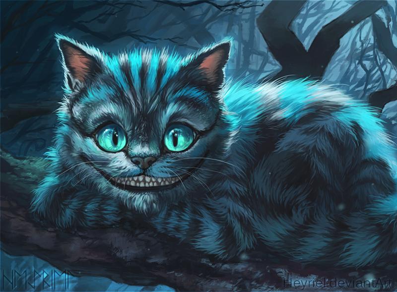 Alice madness returns кот чеширский