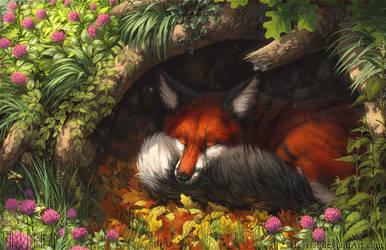 Autumn Slumber by Heyriel