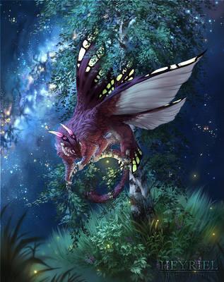 Starry Night by Heyriel
