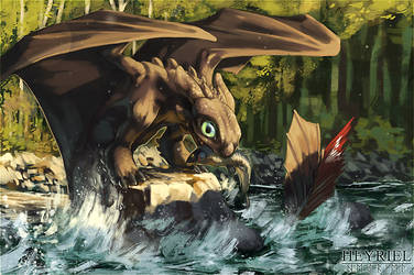 Fishing by Heyriel