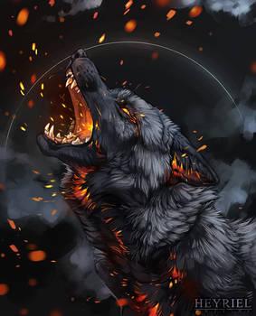 burning up (return to ash)