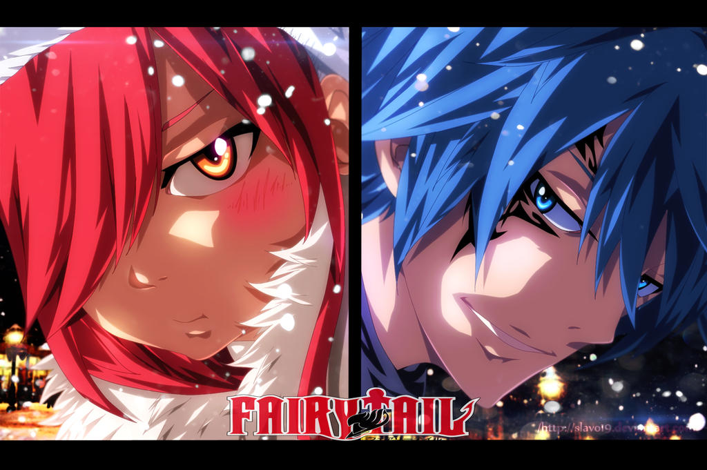 Erza and Jellal - [Fairy Tail] by slavo19 on DeviantArt