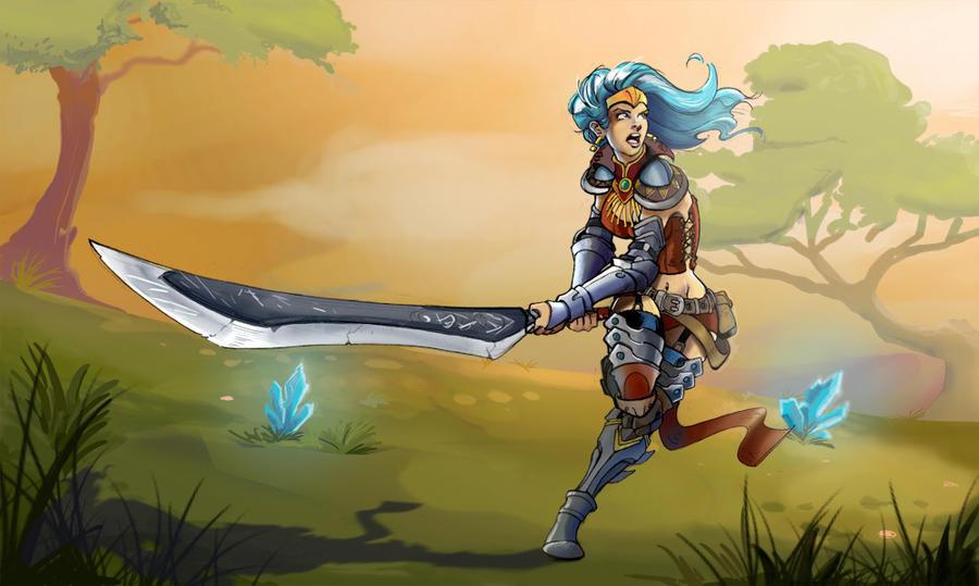 A warrior of Netzavare by YoneSantana