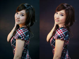 Retouch done with my actions by chupla
