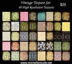 vintage texture set 12