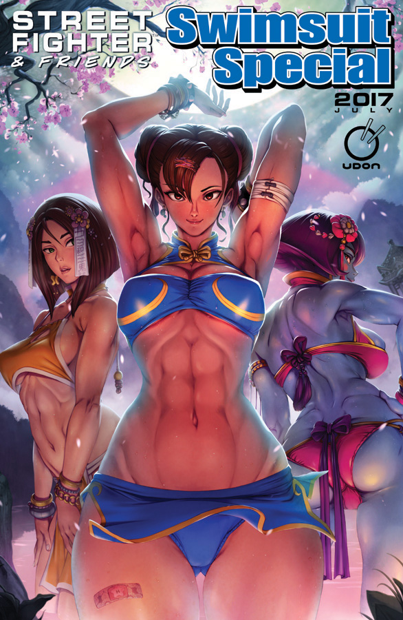 Street Fighter Swimsuit Special 2017 by StudioCutepet