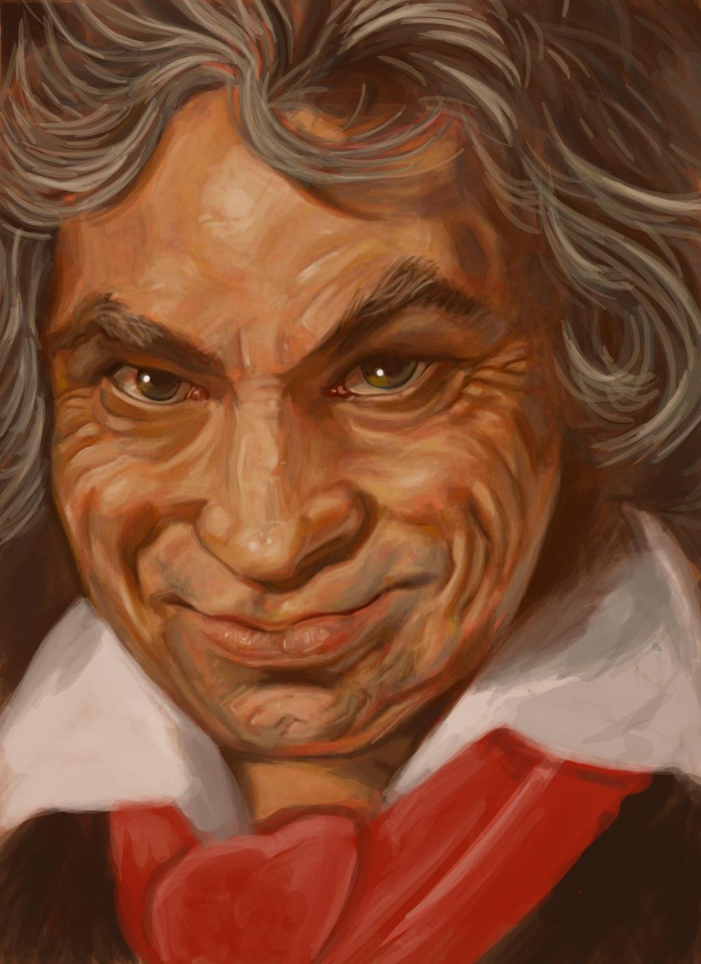 Ludwig Van Beethoven by moxco