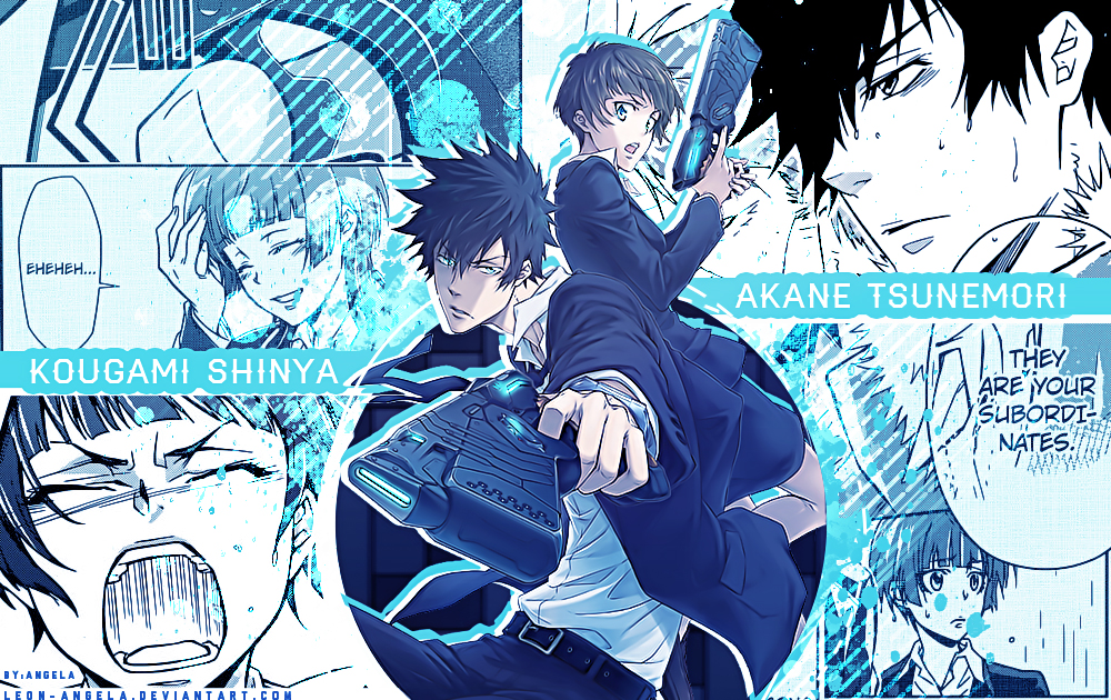 Psycho-Pass wallpaper by LEON-ANGELA