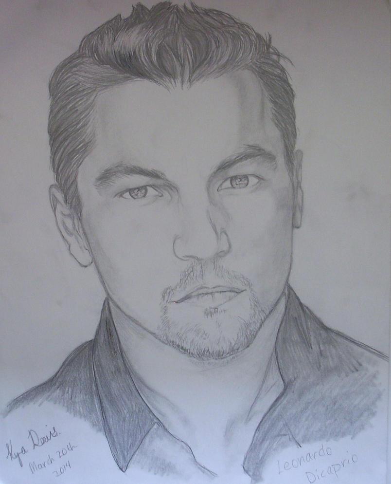 Leonardo Dicaprio Drawing 1 by kworking