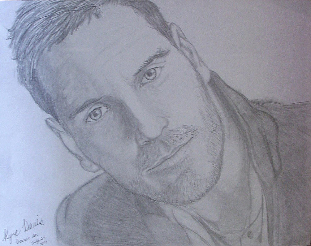 Michael Fassbender Drawing 1 by kworking