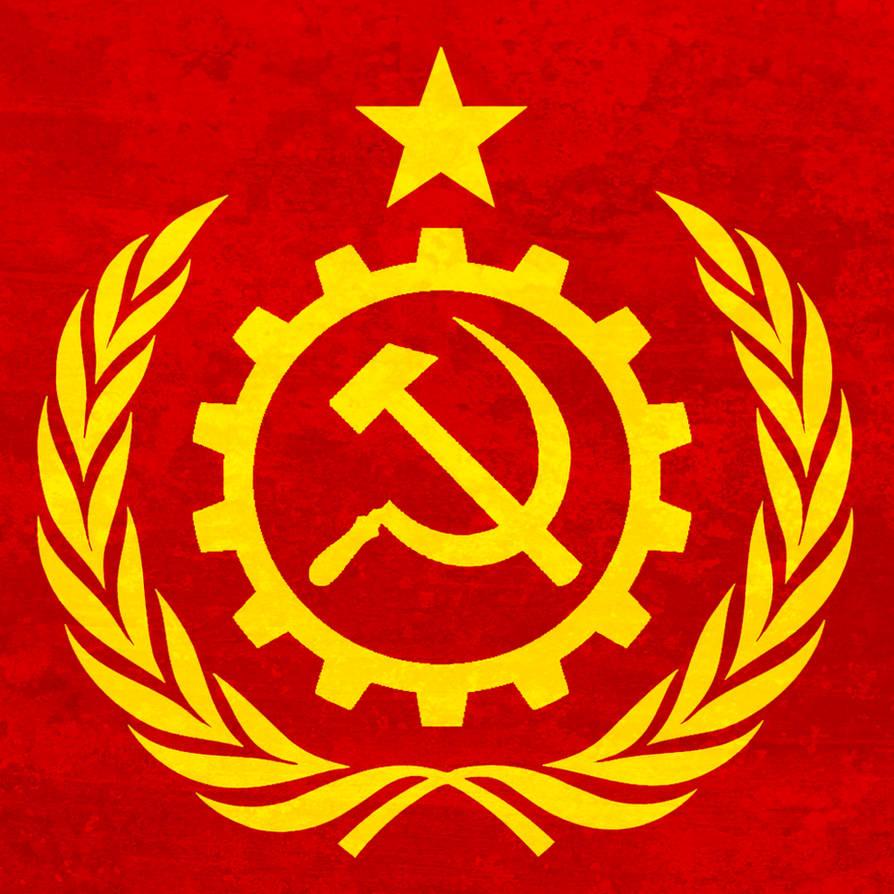 Grunge Communist Emblem by BullMoose1912 on DeviantArt