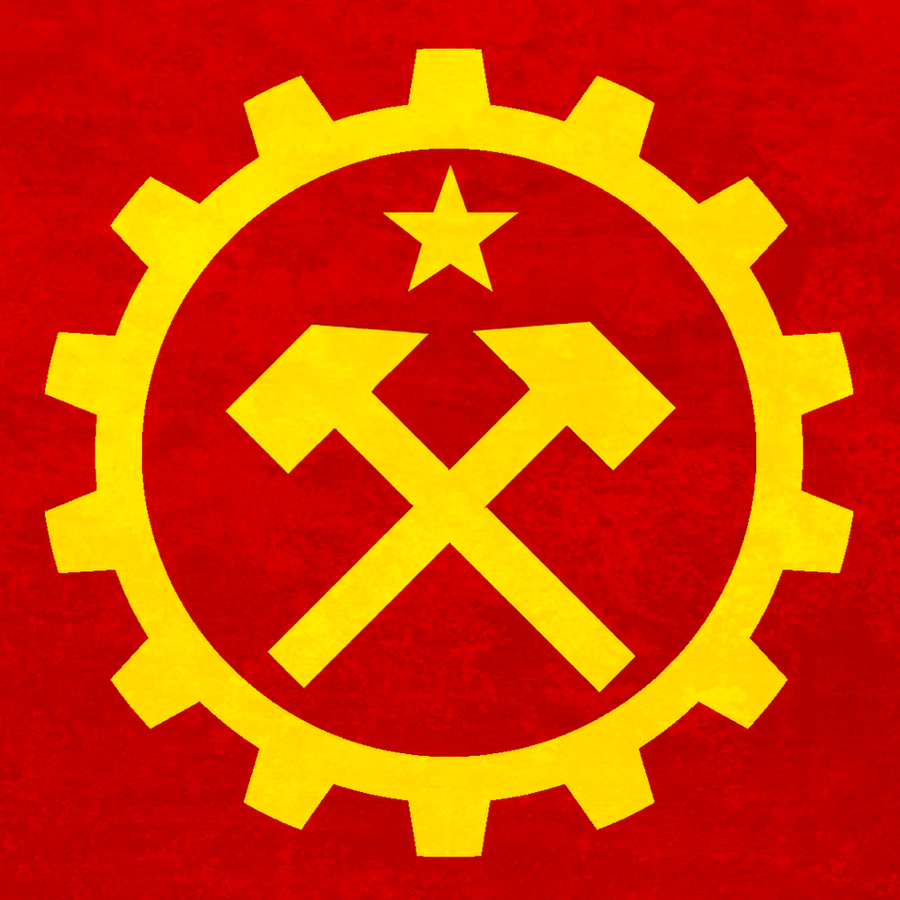 Grunge Communist Emblem 2 by BullMoose1912