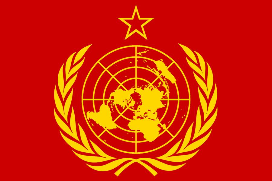 World Socialist Flag by BullMoose1912