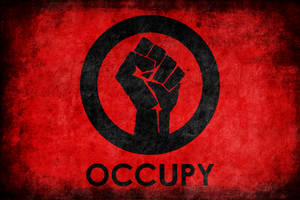 Occupy Logo Grunge Poster by BullMoose1912