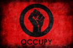 Occupy Logo Grunge Poster