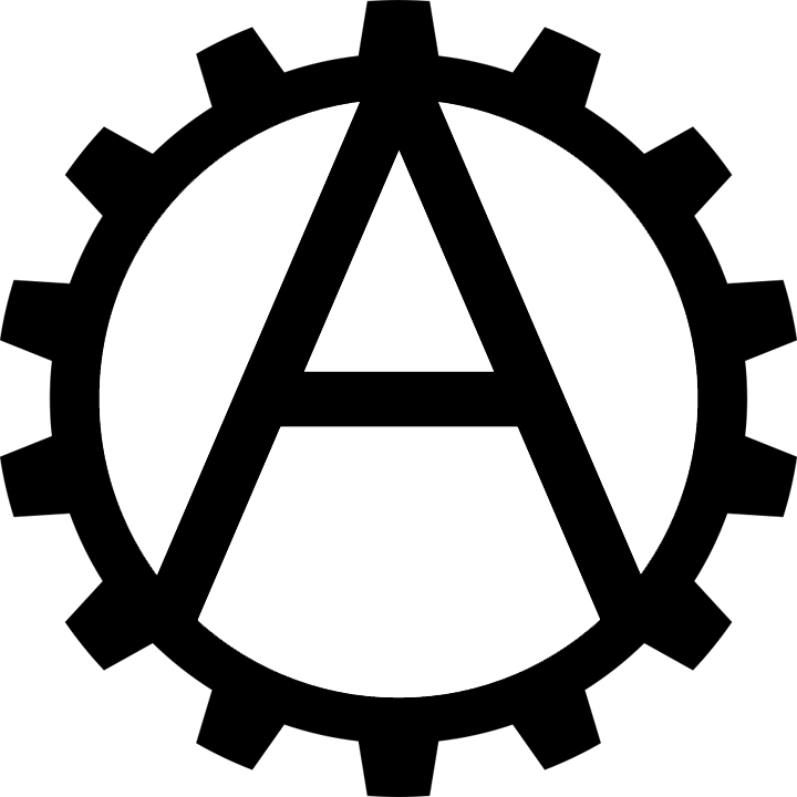 Industrial Anarchism Symbol By Bullmoose1912 On Deviantart