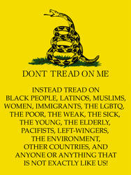 The REAL Gadsden Flag by BullMoose1912