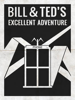 Bill and Ted's Excellent Adventure Minimalist