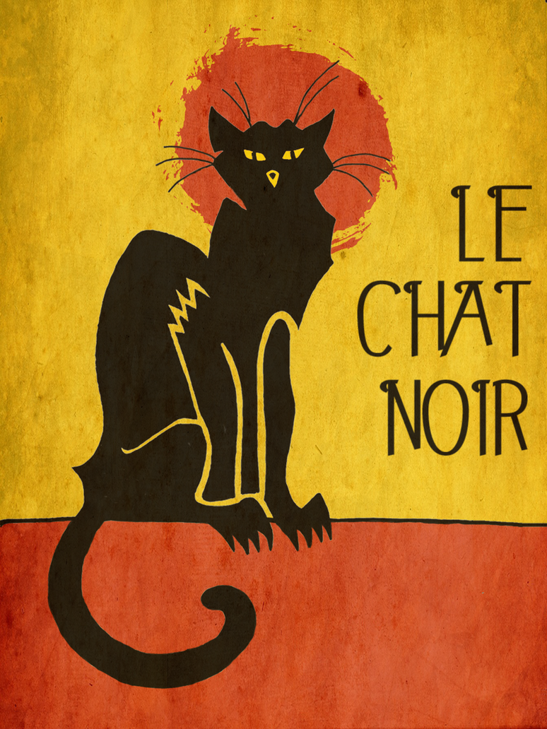 Le Chat Noir Variation by BullMoose1912