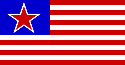 More Likely Socialist American Flag